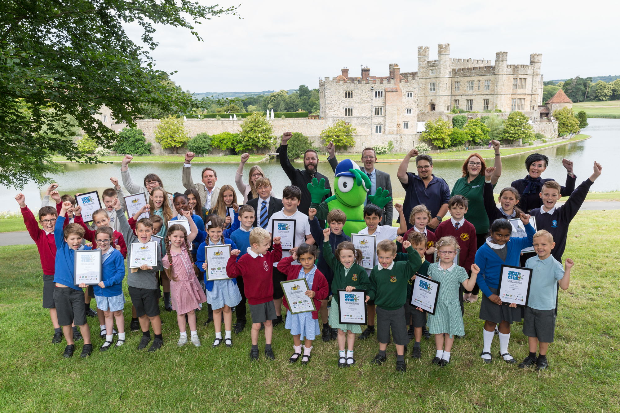 Leeds Castle Summer Challenge Winners