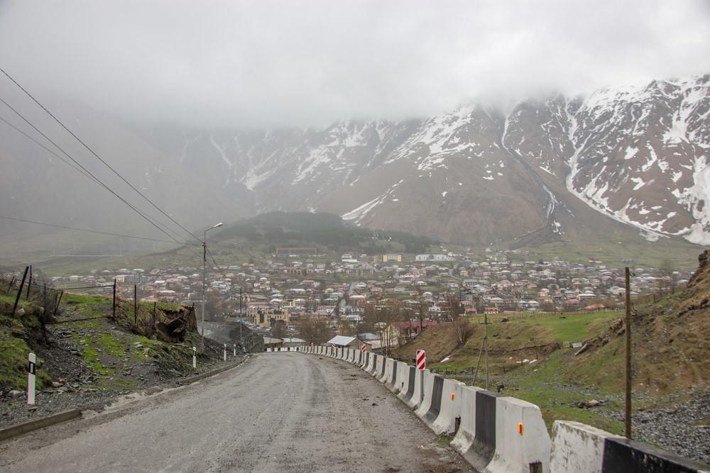 Военно-Грузинская дорога Степанцминда