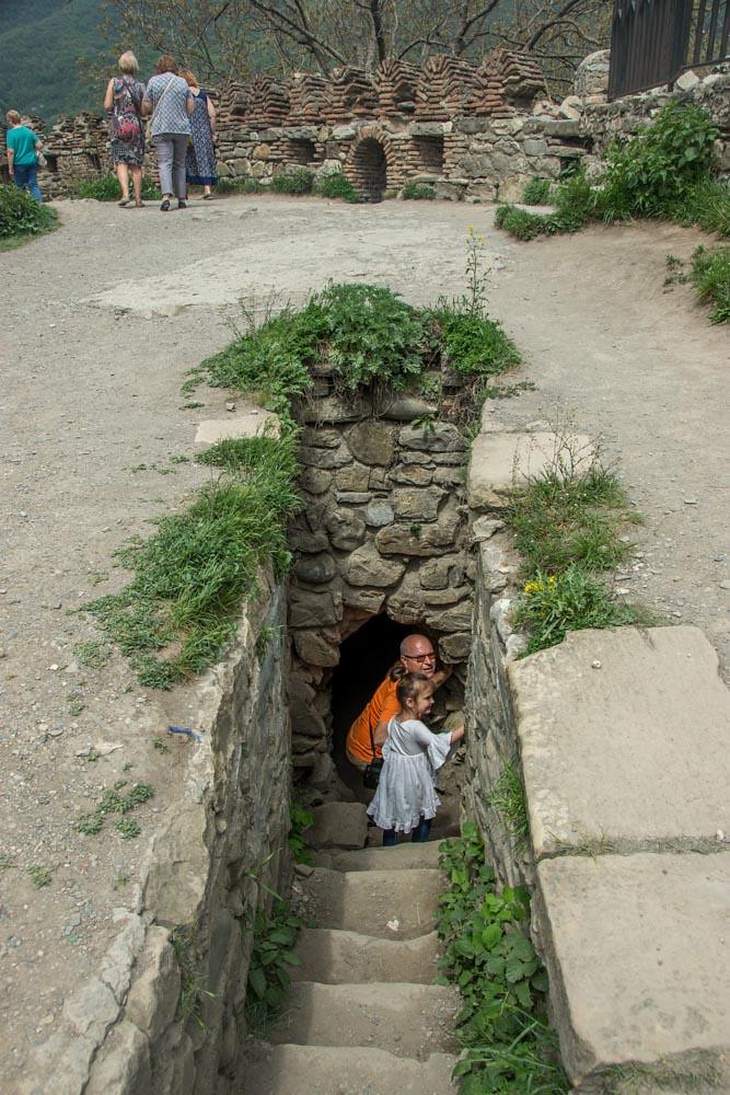 Военно-Грузинская дорога крепость Ананури