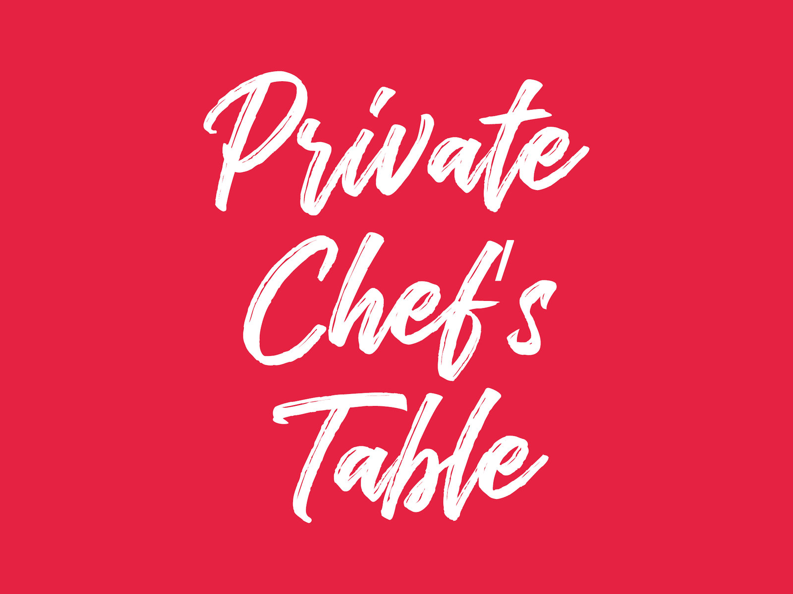 Private Chef_s Table (STB) 1