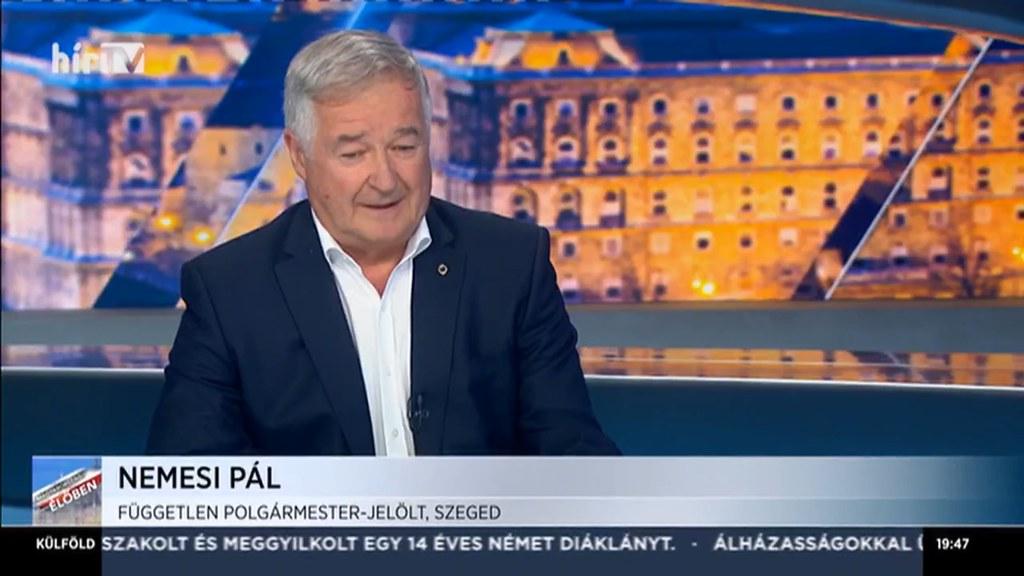 Nekem mindenkivel jó kapcsolatom van – Nemesi Pál a Magyarország élőben című műsor vendége volt