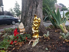 Golden garden gnome
