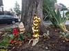 Golden garden gnome