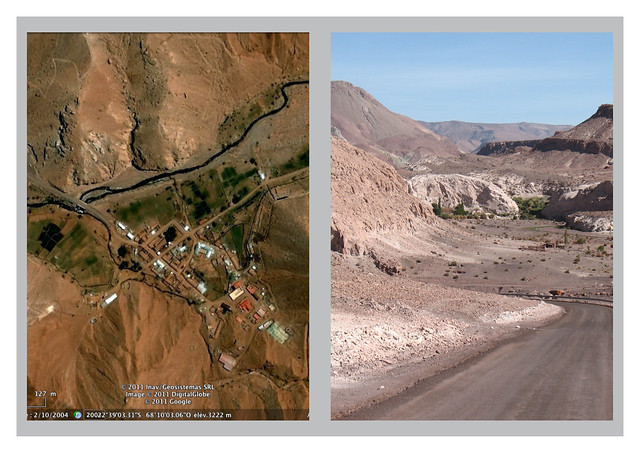 CHILE 2010-2011. San Pedro de Atacama / VALLE del ARCO IRIS – RIO GRANDE