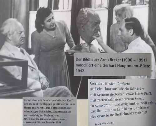 Breker modelliert Hauptmann