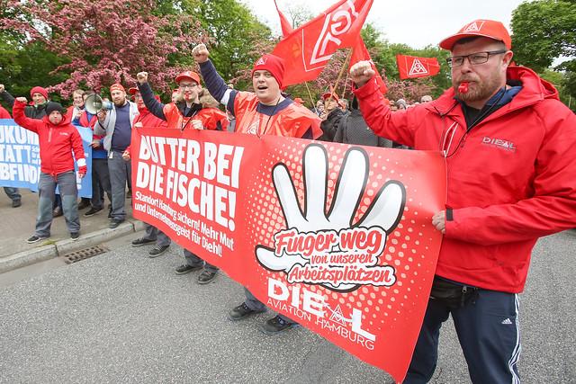 Zweiter Warnstreik bei Diehl Aviation: Beschäftigte machen weiter Druck