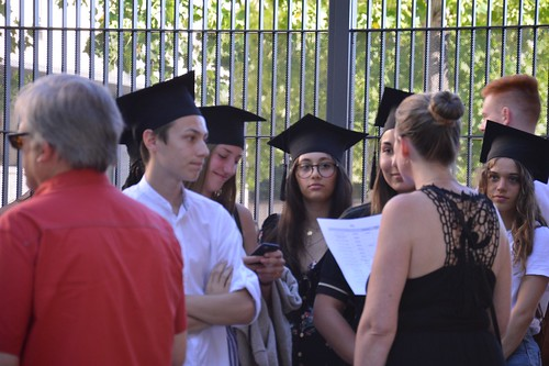 Cérémonie remise diplôme Bac 2019