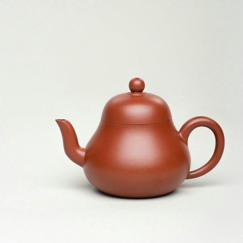 "Yixing Teapot ""Si Ting"" 140CC Dahongpao Mud"