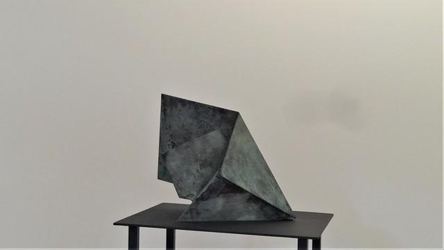 2013 Berlin Unfolding Process I von Katja Strunz Stahl/Bronze Kunsthalle Haus am Waldsee Argentinische Allee 30 in 14163 Zehlendorf