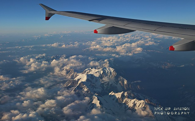 Overflying the Alps