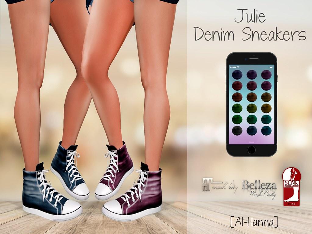 [Al-Hanna] Julie Denim Sneakers