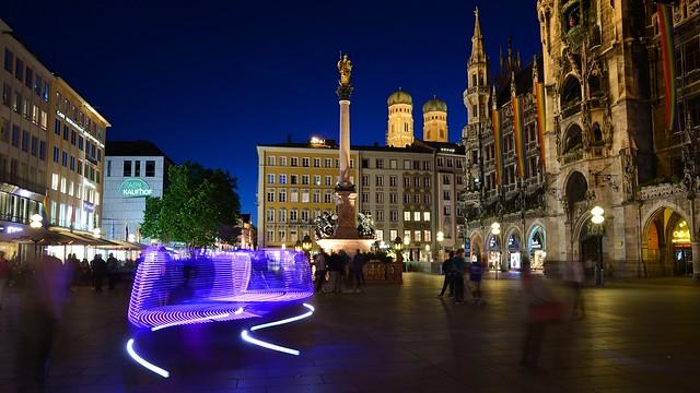 Munich - Marienplatz Rickshaw