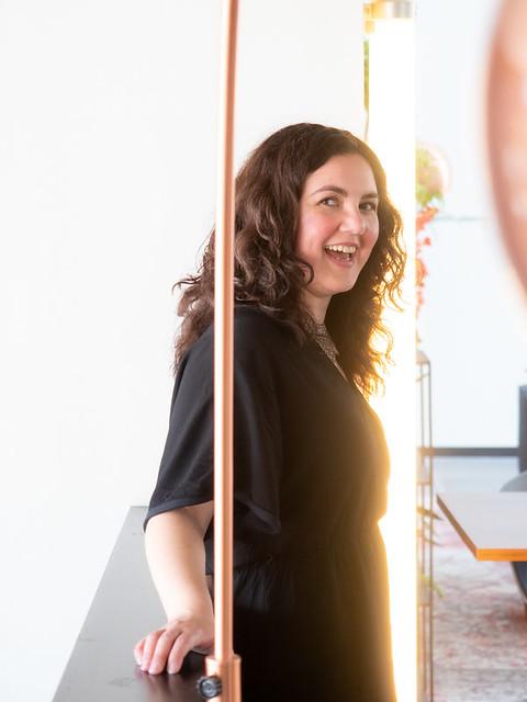 Laura, Amsterdam 2019: Spontaneous smile