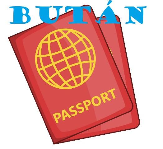 Icono de un pasaporte a Bután