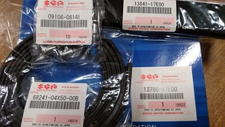 Suzuki genuine parts for GSX-R1100W