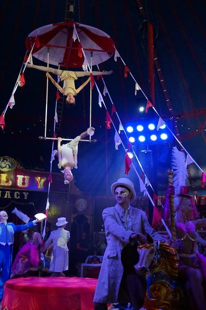 Taller espectacle dels casals d'estiu al Circ Raluy