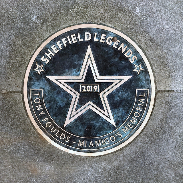 Tony Foulds - Sheffield Walk of Fame, July 2019