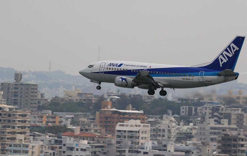 瀬長島から飛行機_1