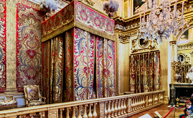 The King's Royal bedroom of the Versailles Palace, France-55a