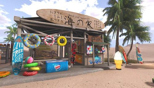 🌴 海の家 🌴 Kanaloa Beach