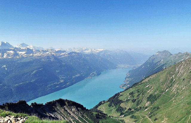 View from Rothorn Kulm, Switzerland