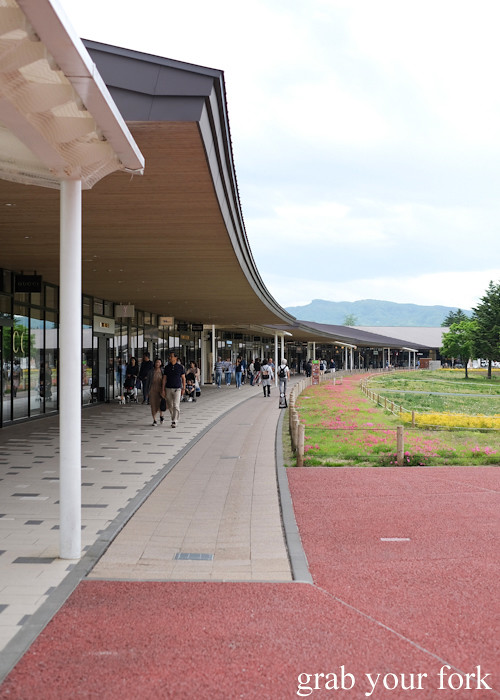 Retail shops at Prince Shopping Plaza in Karuizawa that featured in Terrace House Opening New Doors