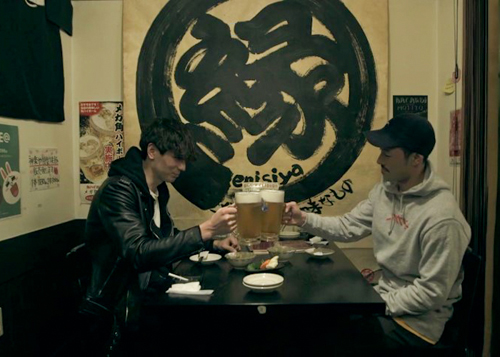 Shion and Takayuki at Enishiya in Karuizawa in Terrace House Opening New Doors