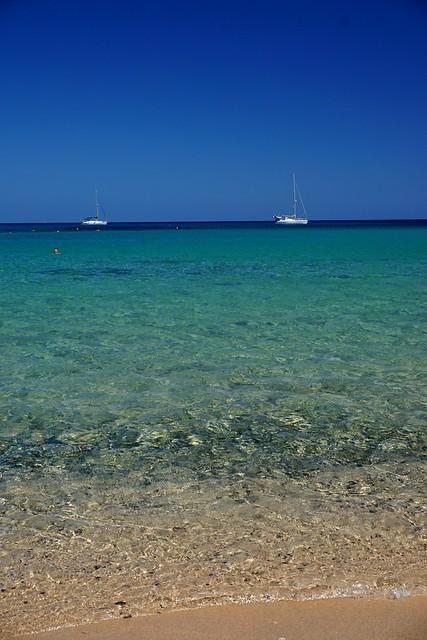 Relaxing blue