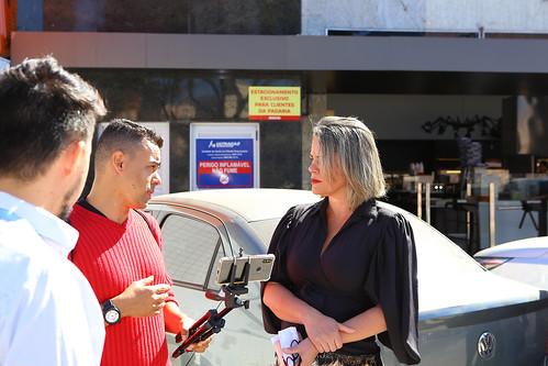 Visita técnica para verificar as condições para instalação de semáforo no Bairro Santa Mônica - Comissão de Desenvolvimento Econômico, Transporte e Sistema Viário