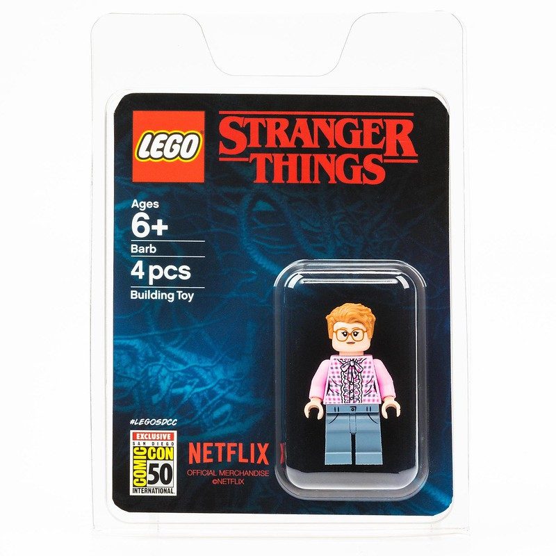 Stranger Things Barb Minifigure SDCC
