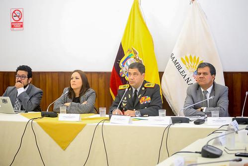 COMISIÓN DE FISCALIZACIÓN RECIBE A: TEMA: GRBA. J. SANTIAGO ALMEIDA C., DIRECTOR GENERAL DEL HOSPITAL DE ESPECIALIDADES DE LAS FUERZAS ARMADAS NO.1. QUITO, 11 DE JULIO 2019