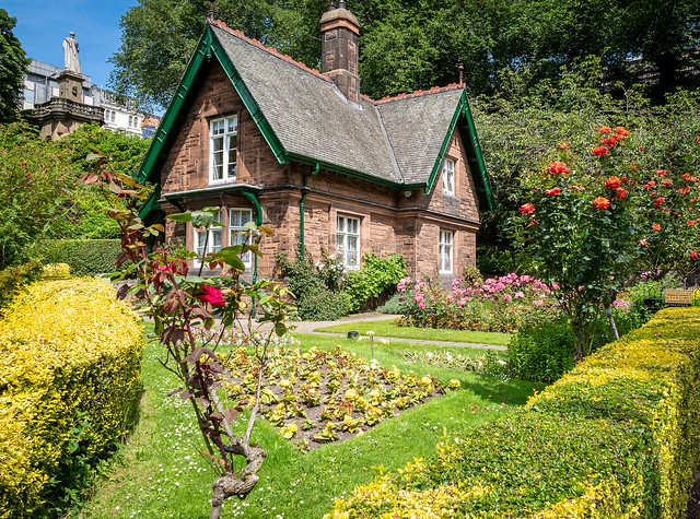 Head gardener's cottage, Princes Street Garden, Edinburgh
