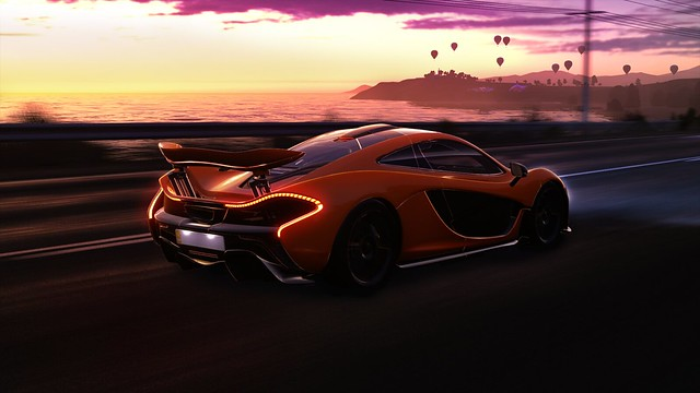 McLaren can touch the sky