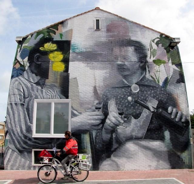Wasp Elder @ the Crystal Ship street art festival in Ostend #thcrstlshp #ostend #oostende #streetart #kriebel #kriebelart #krisblomme #photography #thecrystalship #waspelder