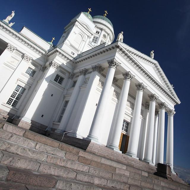 IMG_5978 Helsinki Cathedral by Carl Ludvig Engel