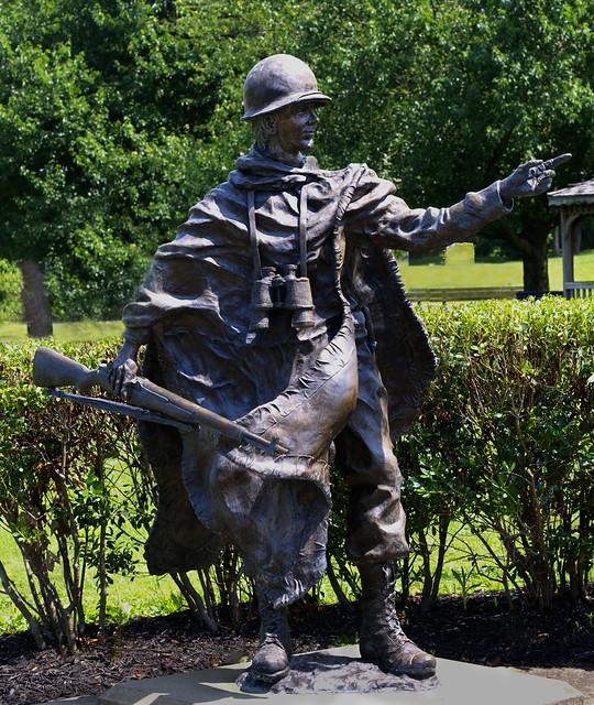 American Soldier in Veterans Park