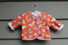 Oliver and S Lullaby Layette jacket
