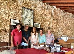 Donació de llibres de la mar a les biblioteques de Calafell