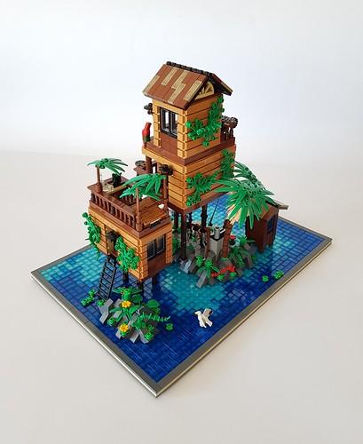 Loner's Paradise MOC. Small islet.
