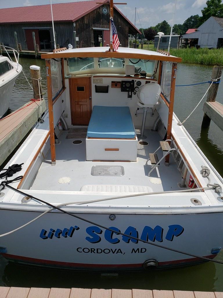 6179 Sisu Lobster Boat   1980 Sisu Lobsterboat in great con