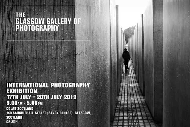 Invitation to the International Photography Exhibition at the Glasgow Gallery of Photography