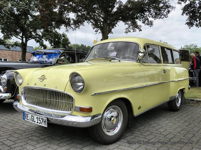 Opel Rekord Caravan, 1956