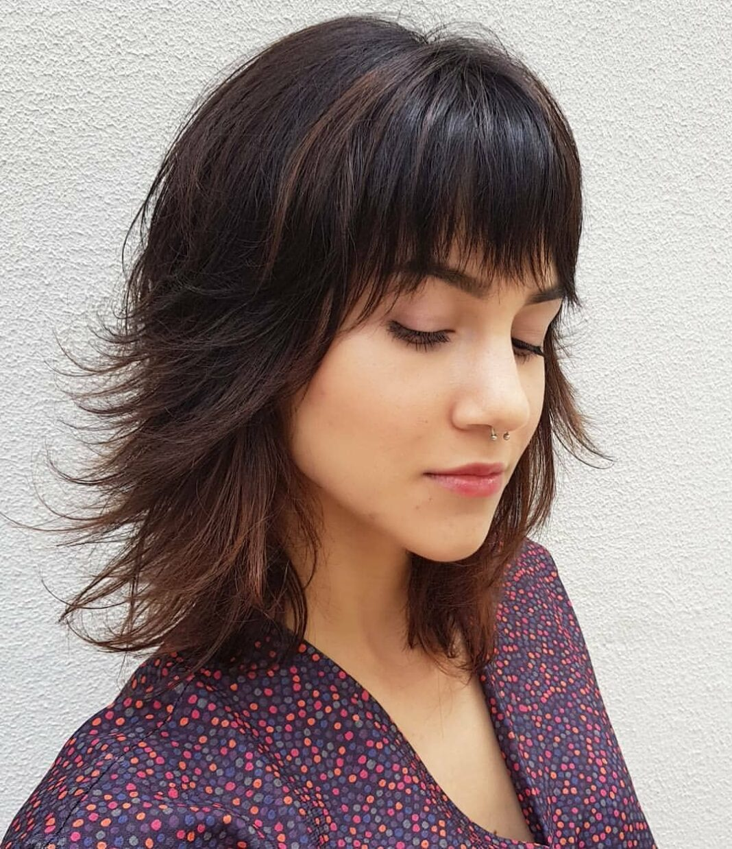 Medium Hairstyles With Bangs 2019 Female 47