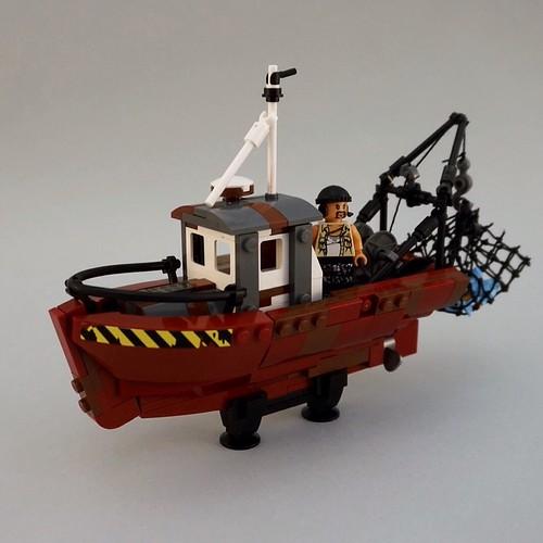 Pre-Cyberpunk 2046: Lone Fisherman