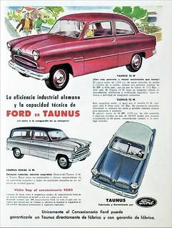 1957 Ford Taunus (Argentina)