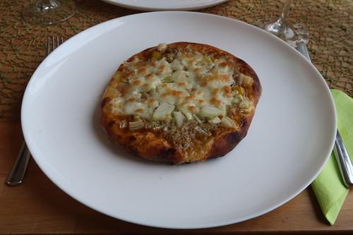 Kleine Pizza Tonno e Cipolla