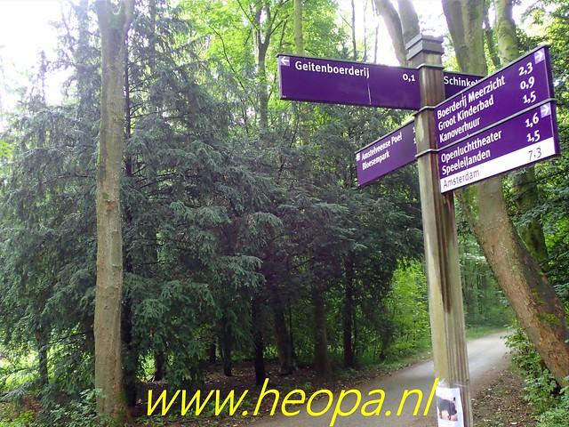 2019-07-11 Amsterdamsebos,        wandeling        19 Km ( (37)