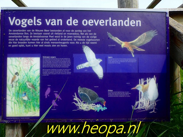 2019-07-11 Amsterdamsebos,        wandeling        19 Km ( (14)