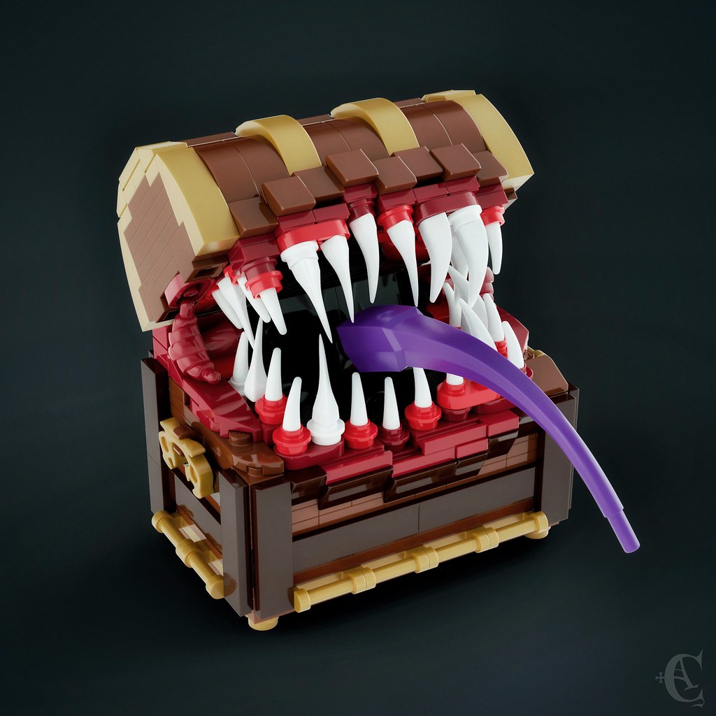 Mimic (custom built Lego model)