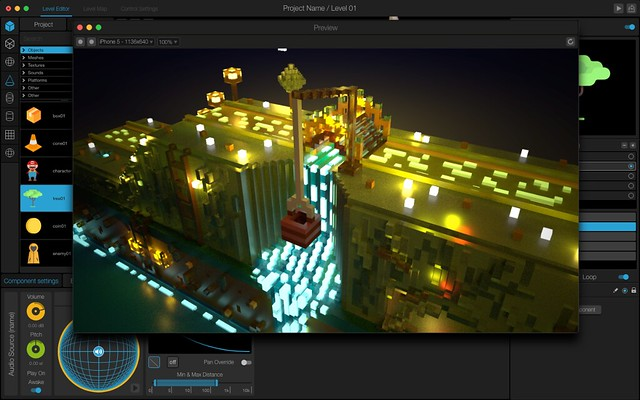 Manu Video Game Maker Is A Code Free Game Engine Announced